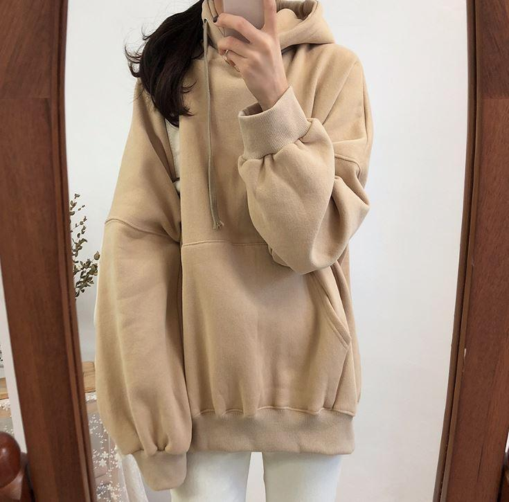 Buy cheap Aesthetic clothes BASIC SOFT COZY OVERSIZED HOODIE 30% OFF - NORMCORE STUDIOS