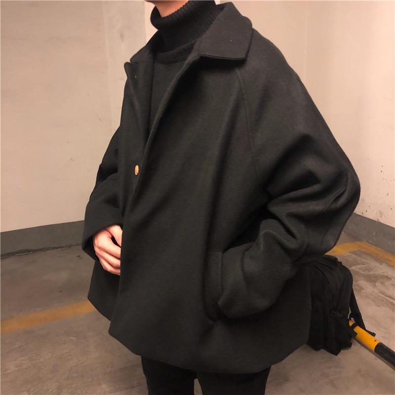 Buy cheap Aesthetic clothes BLACK UNISEX LOOSE RETRO COAT JACKET 30% OFF - NORMCORE STUDIOS