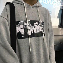 Buy cheap Aesthetic clothes CARTOON PRINT HOODIE CASUAL VELVET STREETSTYLE 30% OFF - NORMCORE STUDIOS