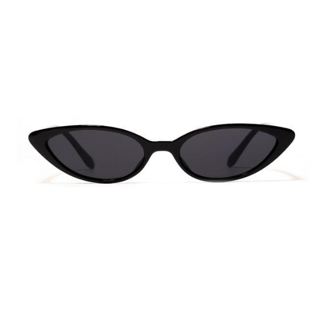 Buy cheap Aesthetic clothes NARROW PLASTIC FRAME SHARP ALIEN SUNGLASSES 30% OFF - NORMCORE STUDIOS