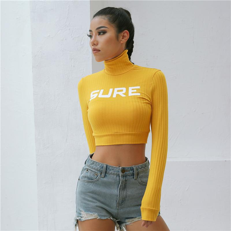 Buy cheap Aesthetic clothes KNIT YOUTH SHORT TOP HIGH COLLAR ''SURE'' 30% OFF - NORMCORE STUDIOS