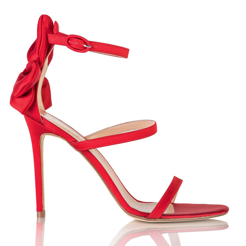 "The ""Gratitude"" Sandal - Red"
