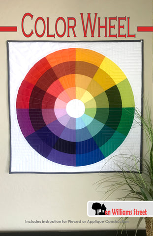 Color Wheel Mini Quilt Kit