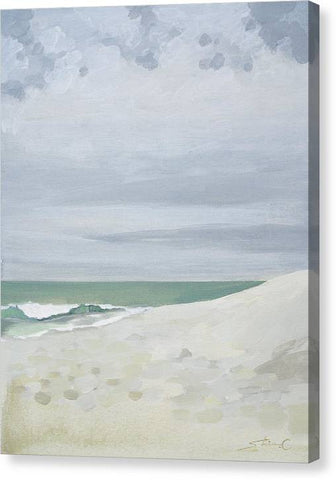 Alone With the Beach - Canvas Print