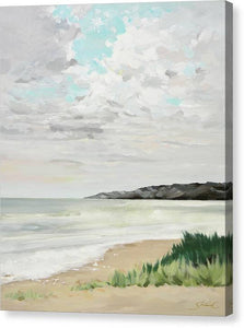 April Beach - Canvas Print