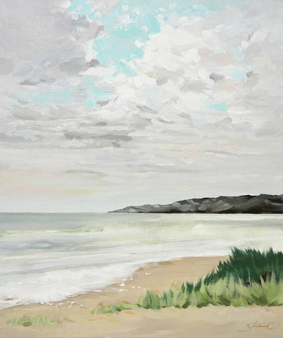 April Beach - Art Print
