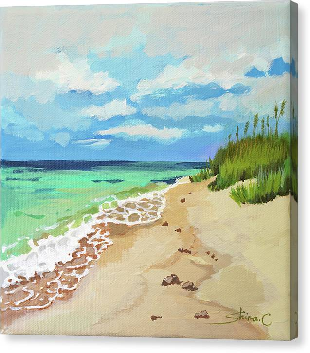 Beach Scenery No.2  - Canvas Print