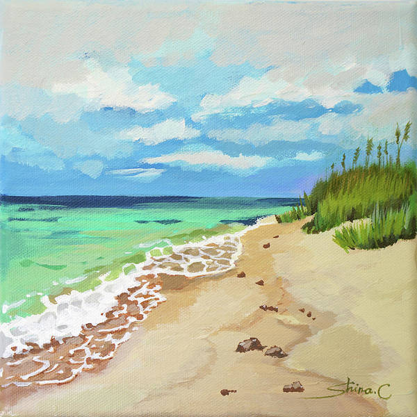 Beach Scenery No.2  - Art Print