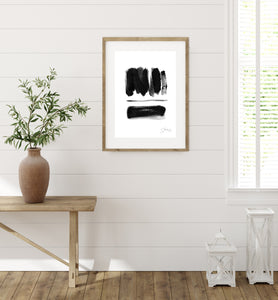 Black and White No.2 - Art Print