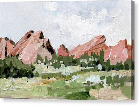 Garden of the Gods - Canvas Print