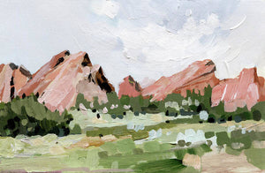 Garden of the Gods - Art Print