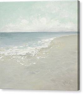 Receding Waves - Canvas Print