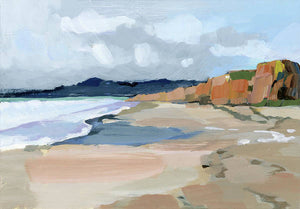 Half Moon Bay - Art Print