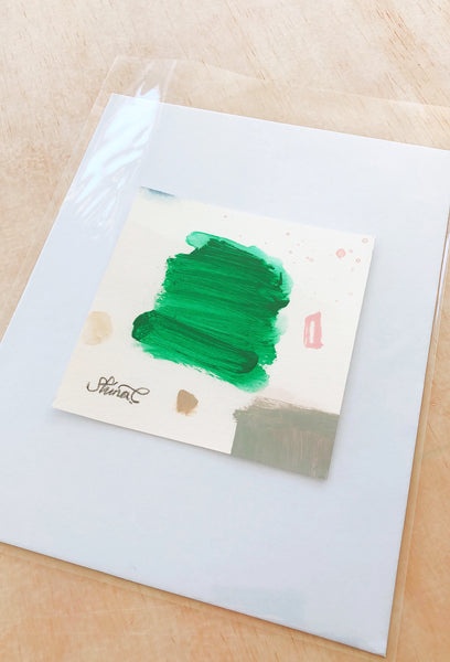 Work on Paper-Color palette 'Green'