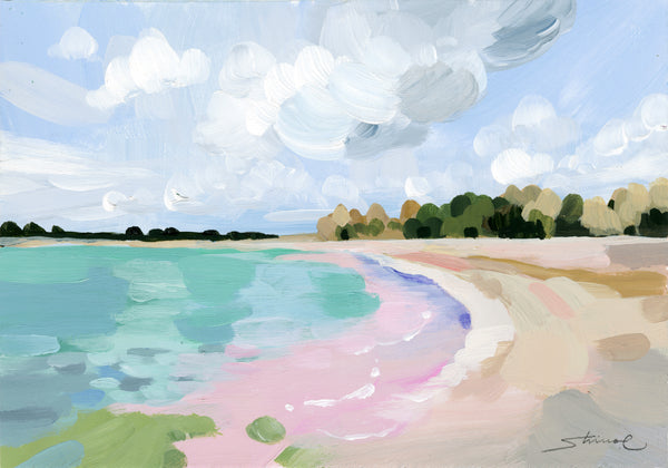 Seascape-Dreamy Pink beach