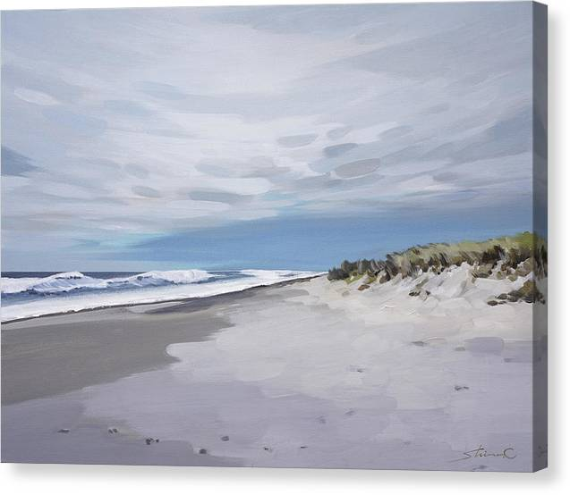 Salted Air and the Calming Waves - Canvas Print