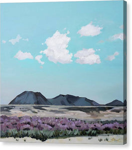 Serenity Afternoon in the Desert - Canvas Print