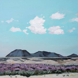 Serenity Afternoon in the Desert - Art Print