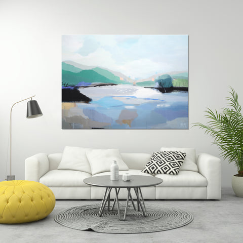 Landscape 'Sky Lake' *SOLD