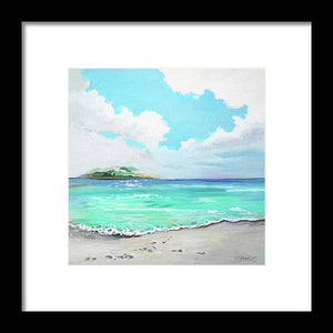 Sunshine Beach - Framed Print