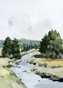 Wood Creek - Art Print