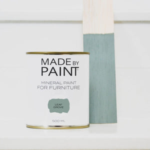 made by paint, function by design, leaf grove, mineral paint