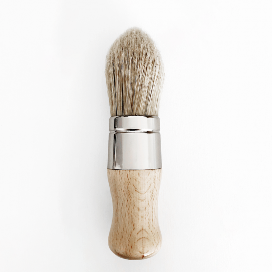 made by paint, function by design, wax brush, gava brush, tapered brush, paint brush