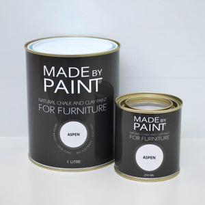 made by paint, function by design, aspen, chalk and clay paint