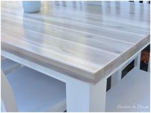Load image into Gallery viewer, CUSTOM FURNITURE PAINTING - Whitewashed Dining Suite
