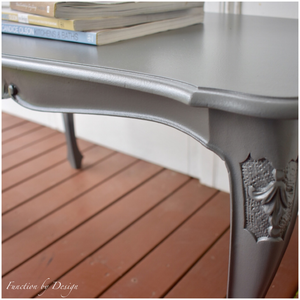 CUSTOM FURNITURE PAINTING - French Provincial Coffee Table