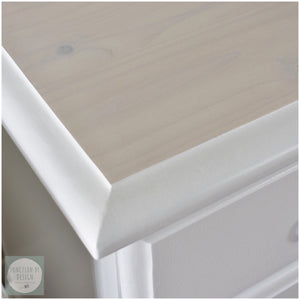 SOLD Coastal Whitewashed Bedside Tables - Furniture for Sale | Function by Design Paint & Furniture