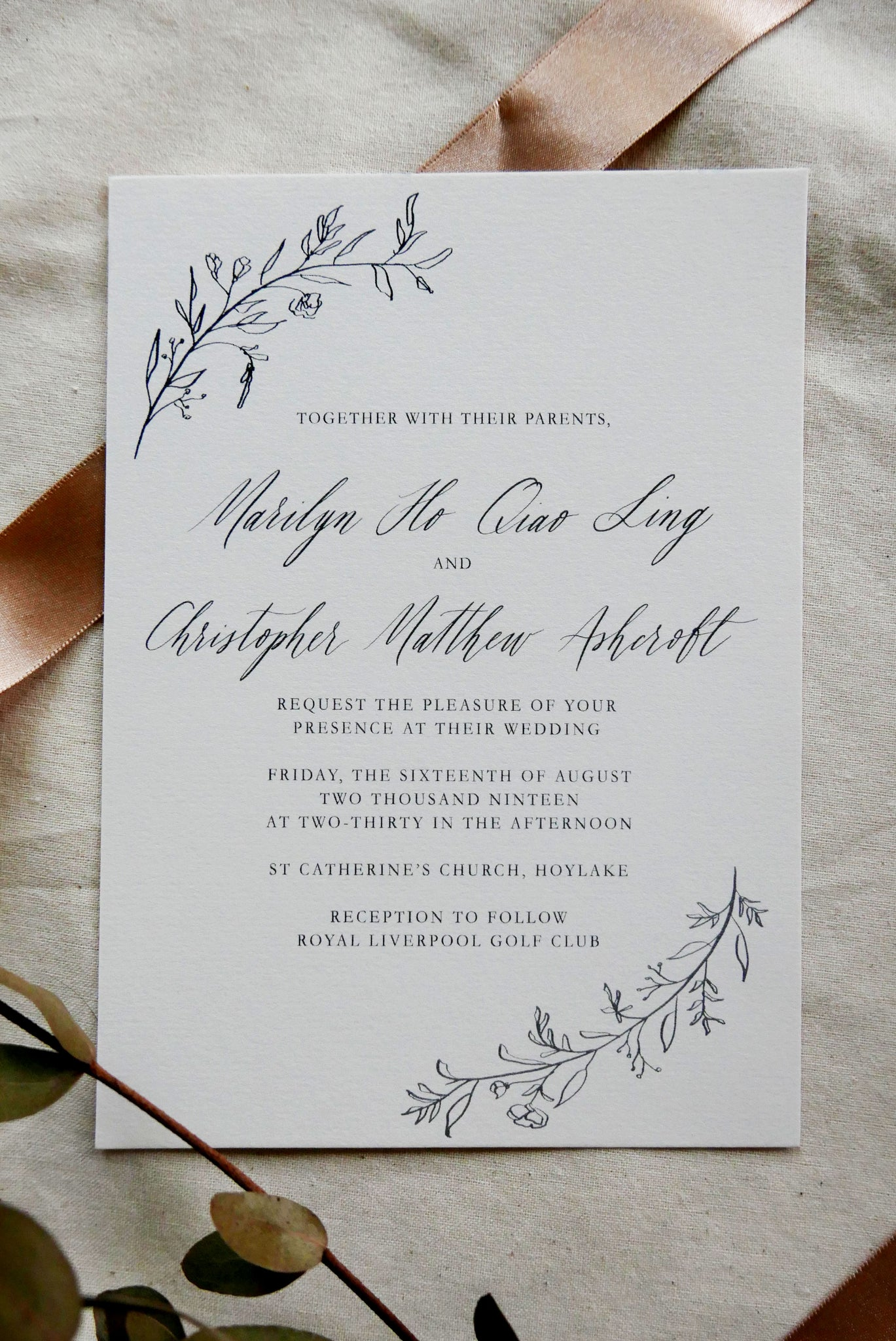 Oriana Invitation Card