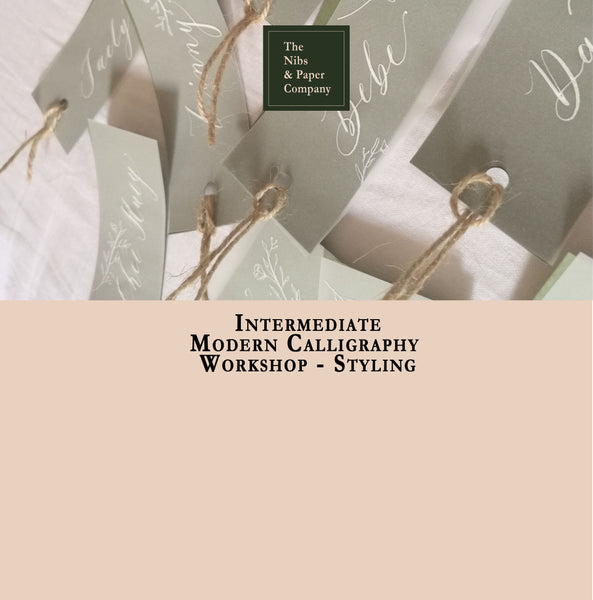 Intermediate Calligraphy Workshop - Styling - September