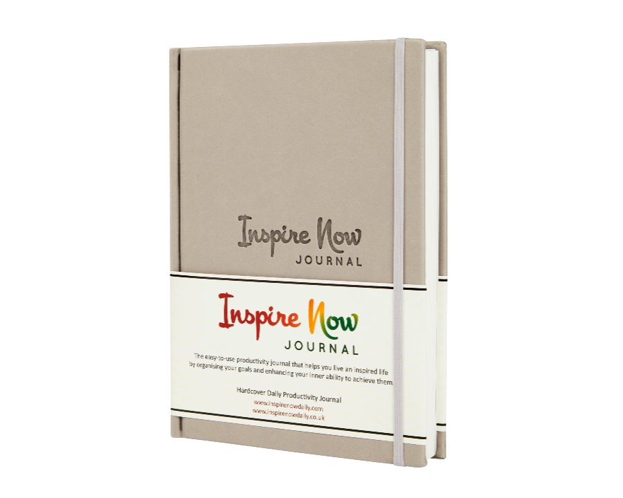 INSPIRE NOW JOURNAL – A5 Daily & Weekly Productivity Planner | Grey