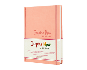 INSPIRE NOW JOURNAL – A5 Daily & Weekly Productivity Planner | Pink
