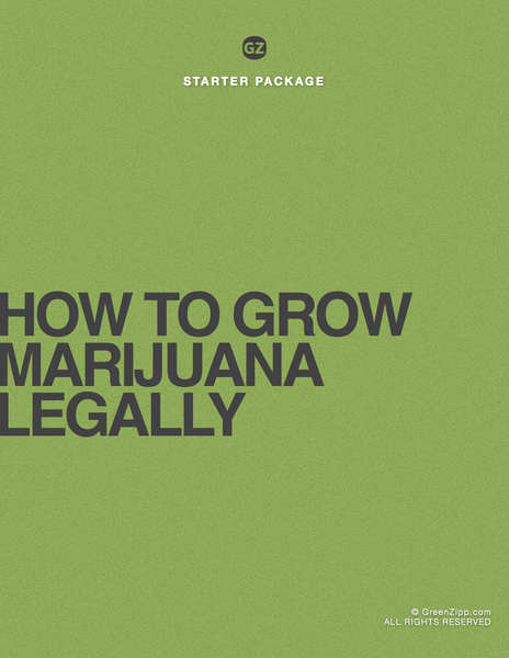 How To Grow Medical or Recreational Marijuana Legally