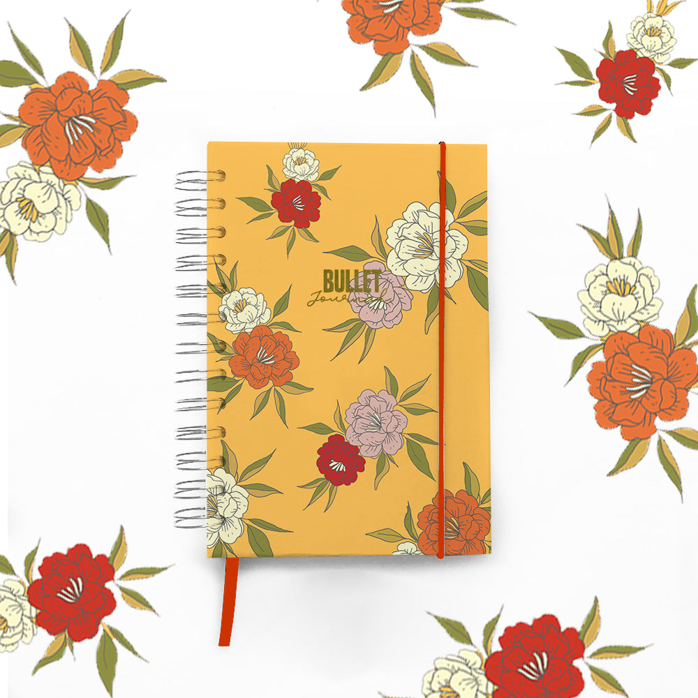 Bullet Journal Espiral Yellow PREVENTA