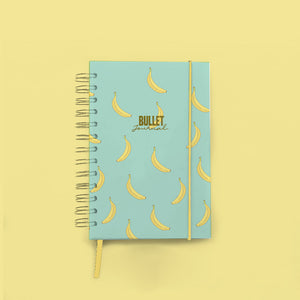 Bullet Journal Espiral Banana PREVENTA