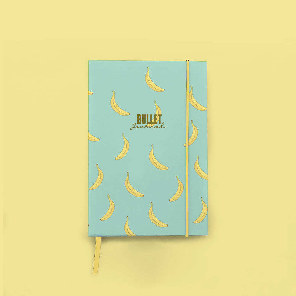 Bullet Journal Encuadernado Banana