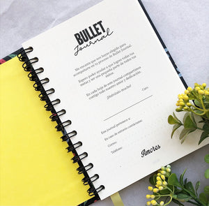 Bullet Journal Espiral Manos