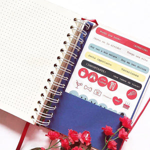 Bullet Journal Espiral Oro PREVENTA