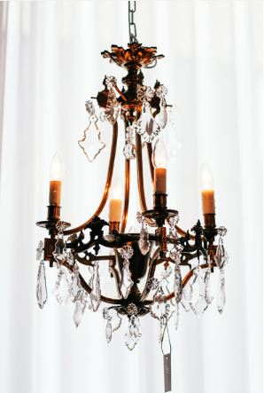 Antique Chandelier - Circa 19th Century