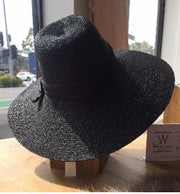 Italian Market Day Hat - Black