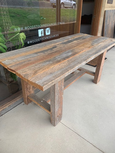 Recycled Ironbark Table