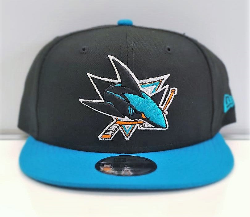 Two Tone Snapback-Blk & Teal