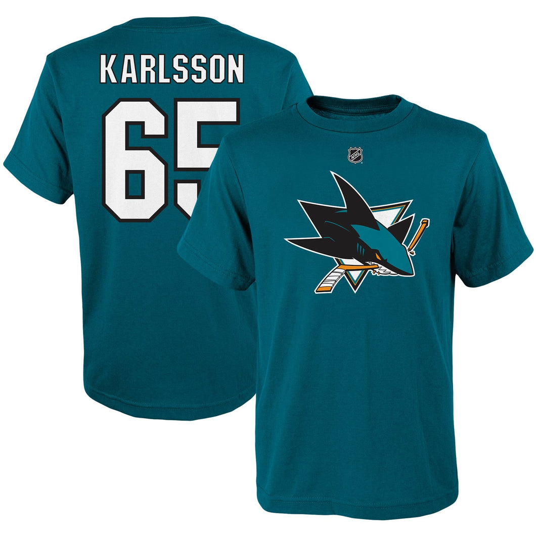 Youth Karlsson N&N Tee-Teal
