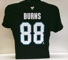 Load image into Gallery viewer, Women's Brent Burns Alt Logo N&N Tee