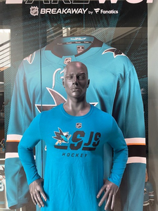 Long Sleeve Authentic Pro - Teal