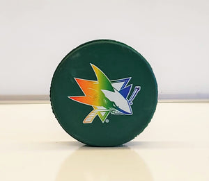 Hockey Is For Everyone Puck-Green