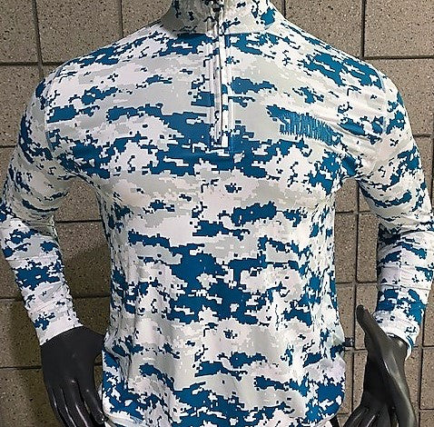 Men's Military Long Sleeve QZ